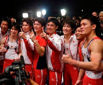 2015体操男子団体のイケメン選手を3分で学ぼう!金メダル級の顔面と筋肉に絶賛の嵐!