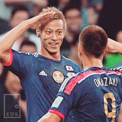本田圭佑おちゃめなベロ顔がカワイイと絶賛!サッカー選手のギャップ画像集www