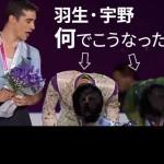 羽生結弦GPF2015爆笑表彰式の宇野昌磨との会話内容が読唇術で判明!