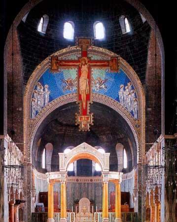 ウェストミンスター大聖堂内部