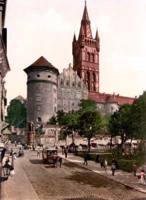 1885年ケーニヒスベルク城