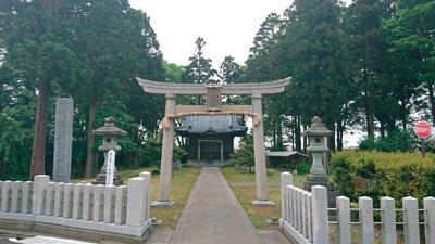 相葉神社(御崎神社境内)