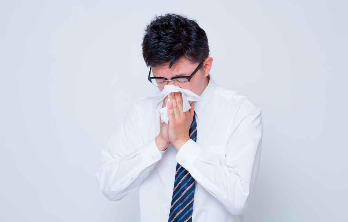 花粉症くしゃみ鼻水解決法