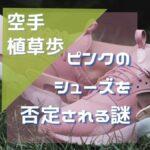 空手・植草歩のパワハラ問題「ピンクのシューズ」がなぜ悪いのか?