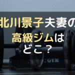 北川景子とDAIGOが通う高級スポーツジムはVIDO?場所はどこ?